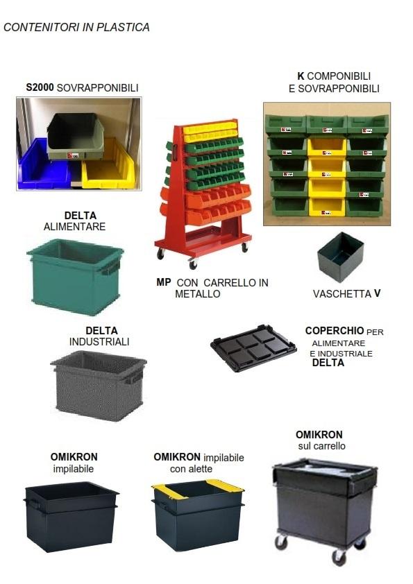 Scaffalature Plastica Componibili.Contenitori In Plastica Scaffalature Metalliche Soppalchi